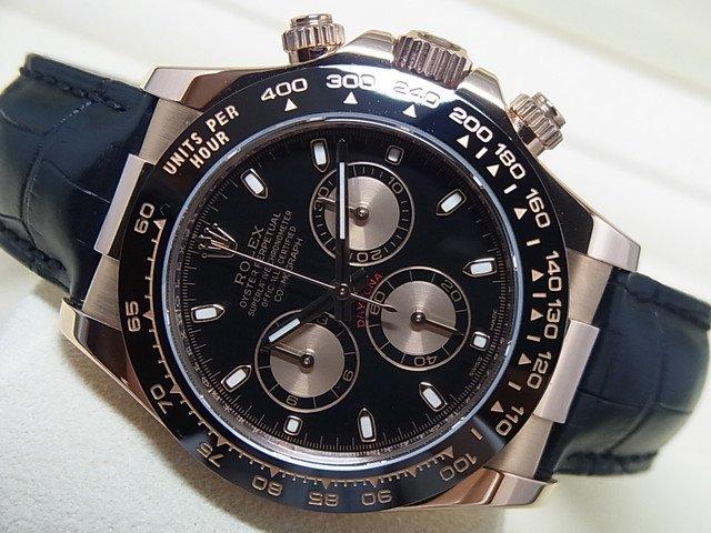 huge discount 66578 4882d ロレックス デイトナ エバーローズゴールド 116515LN ブラック - 腕時計専門店THE-TICKEN(ティッケン) オンラインショップ