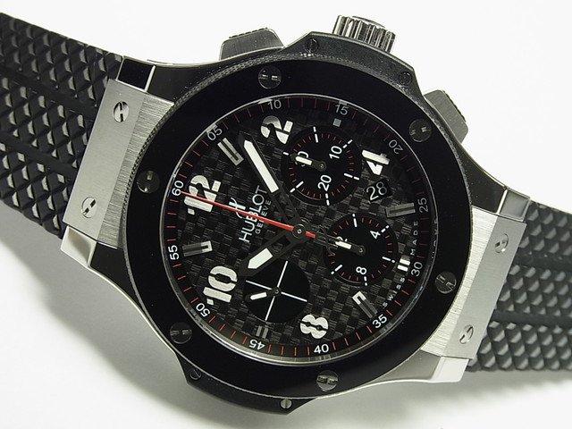 finest selection 9a983 3ea4d ウブロ ビッグバン SS&CE ブラック ラバーベルト 正規品 - 腕時計専門店THE-TICKEN(ティッケン) オンラインショップ