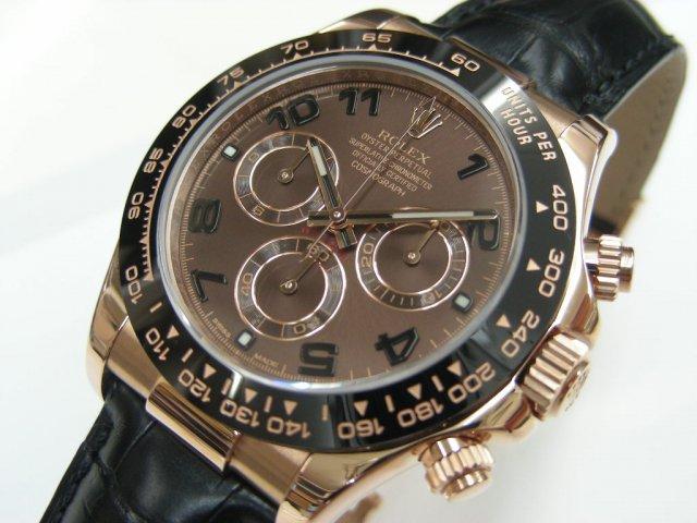 buy popular 2d378 c70e8 ロレックス デイトナ エバーローズゴールド 116515LN ブラウン - 腕時計専門店THE-TICKEN(ティッケン) オンラインショップ