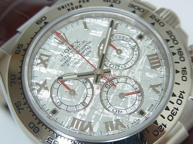 watch 0ee8f 079e3 ロレックス デイトナ 18KWG 116519 メテオライト ランダム番 正規品 - 腕時計専門店THE-TICKEN(ティッケン) オンラインショップ