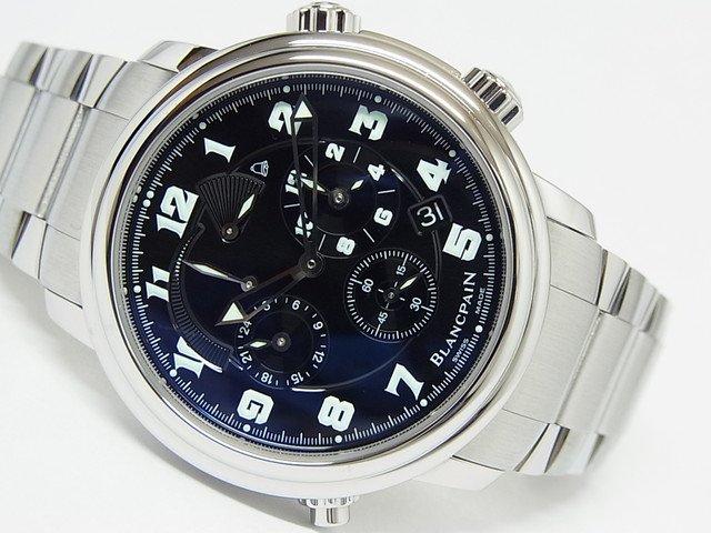 ブランパン レマン GMT アラーム ステンレス 2041-1130M-71