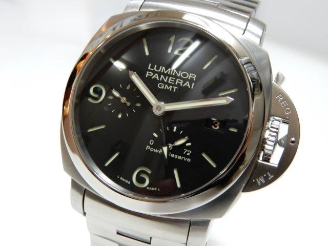 パネライ ルミノール1950 3デイズ GMT  PAM00347