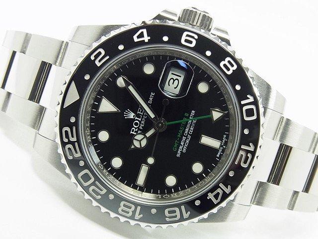 ロレックス GMTマスターII Ref.116710LN ランダム番 正規品