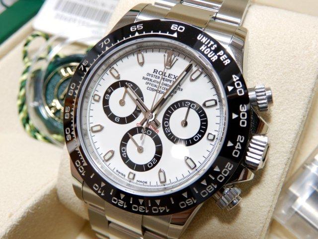 finest selection c840b 92c58 ロレックス 新型デイトナ 116500LN ホワイト  - 腕時計専門店THE-TICKEN(ティッケン) オンラインショップ