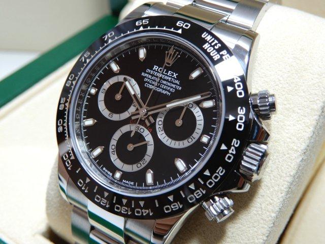 watch ec18c e5a44 ロレックス 新型デイトナ 116500LN ブラック  - 腕時計専門店THE-TICKEN(ティッケン) オンラインショップ