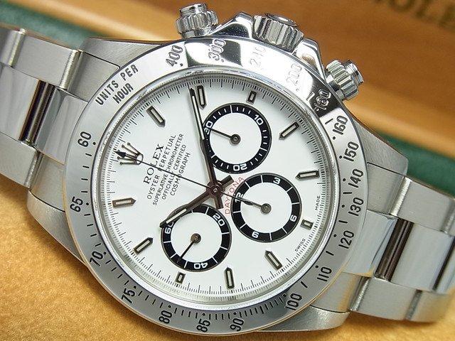 half off d50cf 43a8f ロレックス デイトナ エル・プリメロ 白 Ref.16520 A番 - 腕時計専門店THE-TICKEN(ティッケン) オンラインショップ