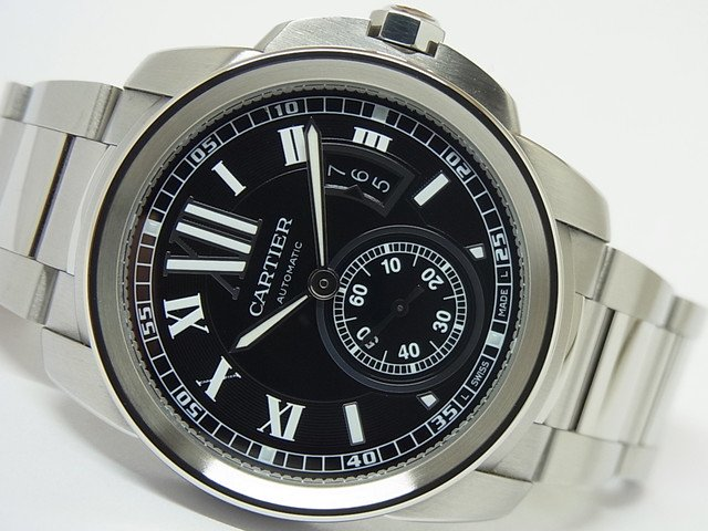カルティエ カリブル ドゥ カルティエ ブラック ブレス仕様 W7100016