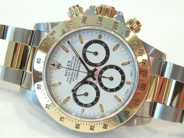 huge discount a921a 387c3 ロレックス デイトナ エルプリメロ YGコンビ ホワイト/黒サークル - 腕時計専門店THE-TICKEN(ティッケン) オンラインショップ
