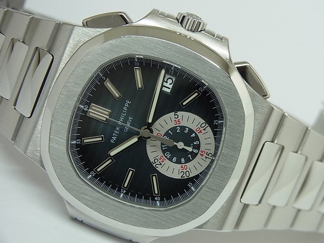 newest ad4a6 1730c パテック・フィリップ ノーチラス クロノグラフ SS 5980/1A-001 - 腕時計専門店THE-TICKEN(ティッケン) オンラインショップ