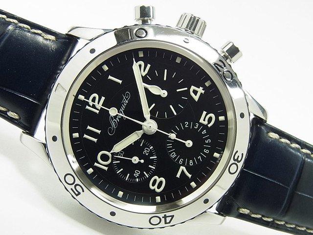ブレゲ アエロナバル SS 革ベルト Ref.3800ST