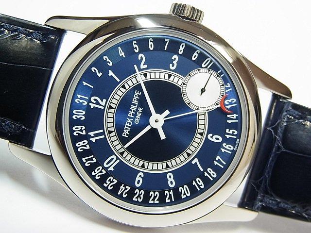 パテック・フィリップ カラトラバ 18KWG ブルー 6000G-012