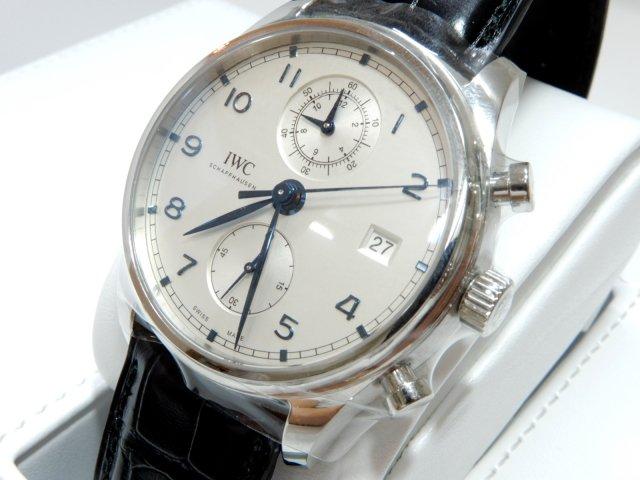 the latest b2f68 fadc8 IWC ポルトギーゼ クロノグラフ クラシック 正規未使用品 - 腕時計専門店THE-TICKEN(ティッケン) オンラインショップ