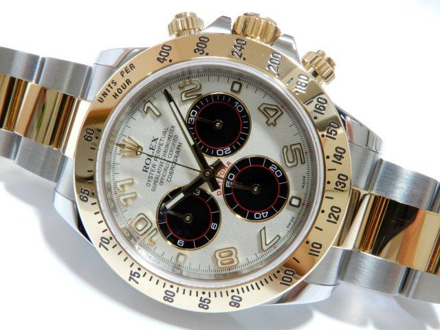new style 4e4f5 ee3da ロレックス デイトナ・コンビ 116523 ホワイト・アラビア - 腕時計専門店THE-TICKEN(ティッケン) オンラインショップ
