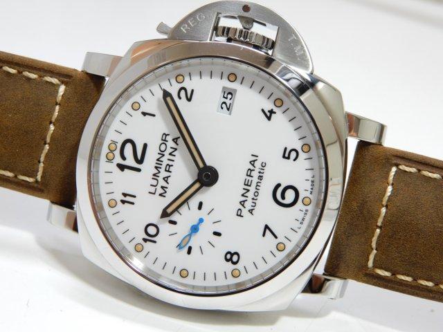 パネライ ルミノール1950 42mm 3デイズ ホワイト PAM01523