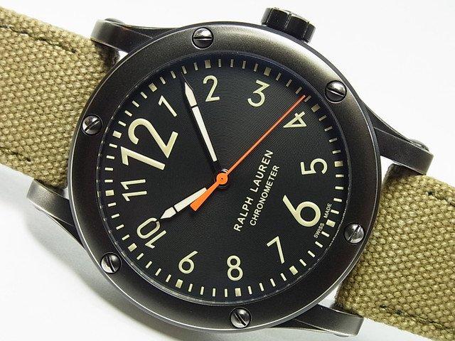 ラルフローレン サファリ・RL67 45MM R0220900 正規品