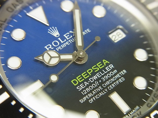 pretty nice c56ce 41207 ロレックス ディープシー・Dブルー 116660 '16年 国内正規品 - 腕時計専門店THE-TICKEN(ティッケン) オンラインショップ