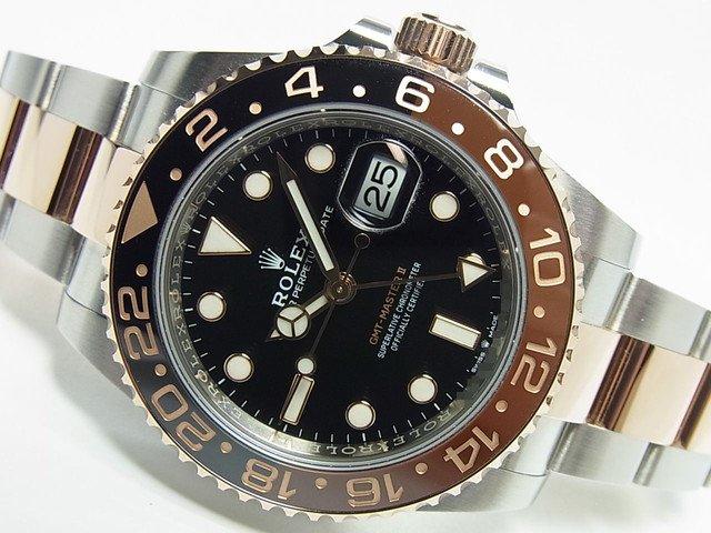 hot sale online 0b5bb 31315 ロレックス 新型GMTマスターII 126711CHNR SS&RG 国内正規品 ...