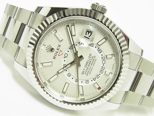 new style ef8ac 699f0 ロレックス スカイドゥエラー WGベゼル ホワイト Ref.326934 - 腕時計専門店THE-TICKEN(ティッケン) オンラインショップ