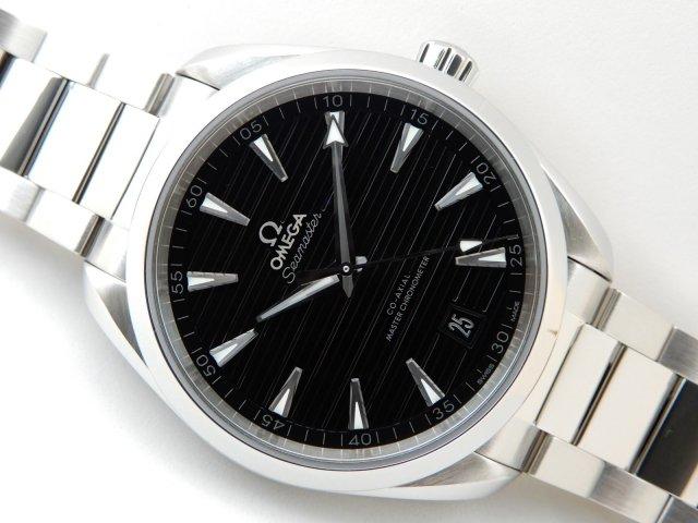 brand new 35641 a1d8a オメガ シーマスター アクアテラ コーアクシャル マスタークロノメーター - 腕時計専門店THE-TICKEN(ティッケン) オンラインショップ