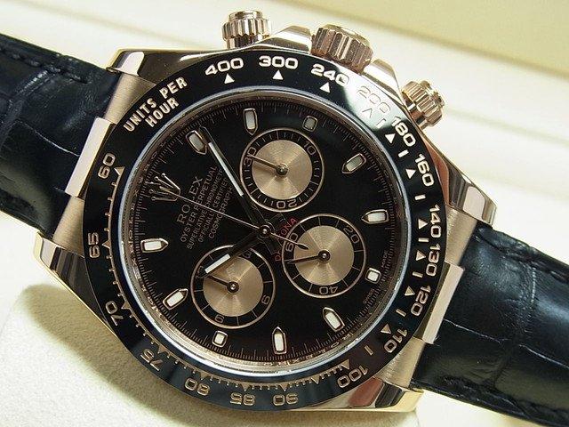 new style 0a9cf 86608 ロレックス デイトナ・エバーローズゴールド 116515LN  黒×金 正規 - 腕時計専門店THE-TICKEN(ティッケン) オンラインショップ