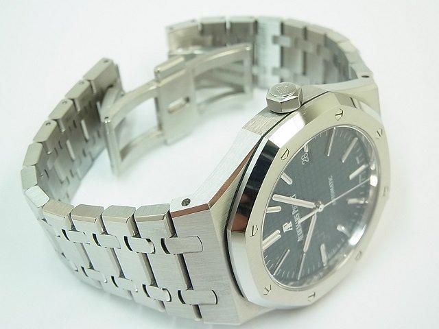 new style db99e 81e71 オーデマ・ピゲ ロイヤルオーク・41MM ブルー 15400ST 2016年 - 腕時計専門店THE-TICKEN(ティッケン) オンラインショップ