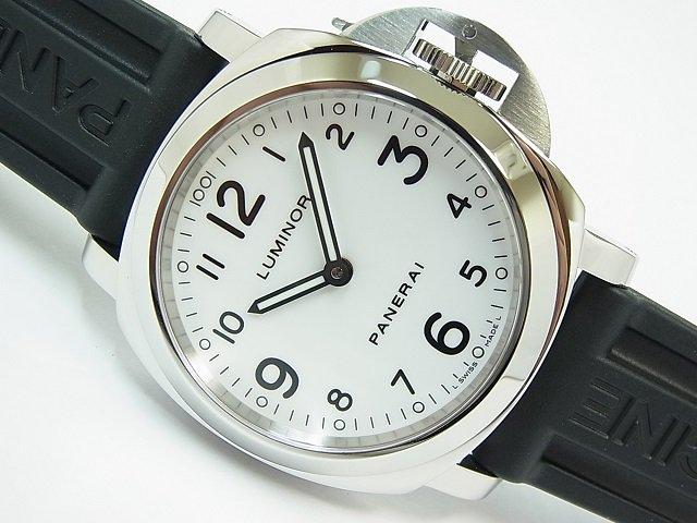 パネライ ルミノール・ベース ホワイト PAM00114 M番