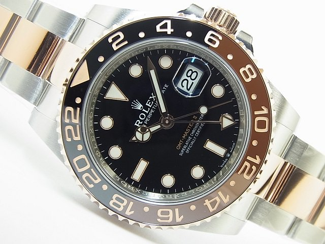 new product 42e03 8b13e ロレックス 新型GMTマスターII 126711CHNR SS&RG 未使用品 - 腕時計専門店THE-TICKEN(ティッケン) オンラインショップ