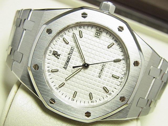 オーデマ・ピゲ ロイヤルオーク・36MM ホワイト 14790ST 正規品