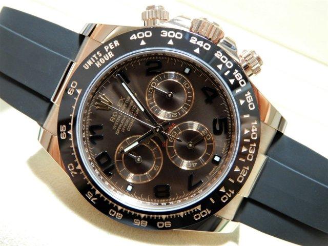 newest 4de68 bd5a1 ロレックス  デイトナ RG/オイスターフレックスブレスレット(ラバー) 116515LN - 腕時計専門店THE-TICKEN(ティッケン)  オンラインショップ