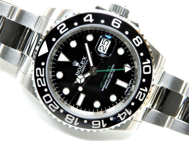 ロレックス GMTマスターII 116710LN ランダム番