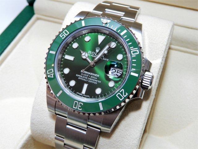 new arrival aa950 18446 ロレックス 現行グリーンサブ 116610LV 2018年 未使用品 - 腕時計専門店THE-TICKEN(ティッケン) オンラインショップ