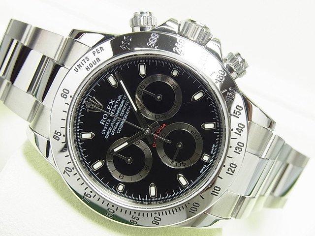 ロレックス デイトナ SS ブラック 116520 G番 正規品
