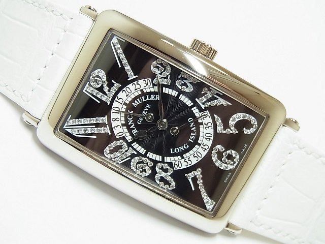 フランク・ミュラー ロングアイランド ビーレトログラード ダイヤモンド 1100DSRCD 正規品