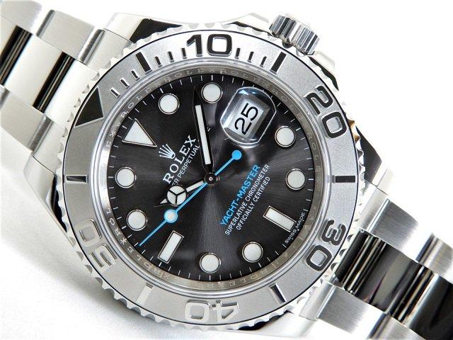 outlet store 3e487 1e38b ロレックス ヨットマスター40 ダークロジウム 116622 未使用品 - 腕時計専門店THE-TICKEN(ティッケン) オンラインショップ