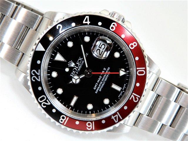 ロレックス GMTマスター� 赤黒ベゼル 16710 A番