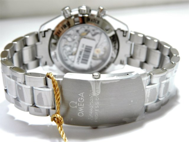 best service 1b219 46f10 オメガ スピードマスター プロフェッショナル ムーンウォッチ シースルーバック 並行未使用品 - 腕時計専門店THE-TICKEN(ティッケン)  オンラインショップ