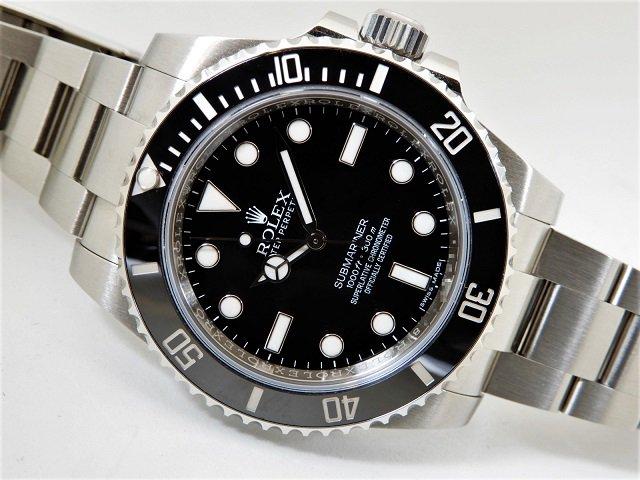 online store 57b49 e63ce ロレックス サブマリーナ・ノンデイト 114060 2017年 正規品 - 腕時計専門店THE-TICKEN(ティッケン) オンラインショップ