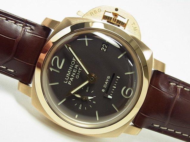 パネライ ルミノール1950・8DAY'S・GMT PG PAM00289 正規品