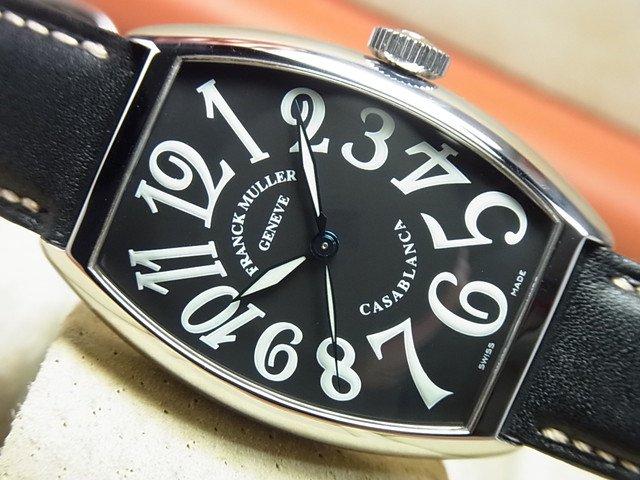 フランク・ミュラー カサブランカ ブラック 革ベルト 5850CASA