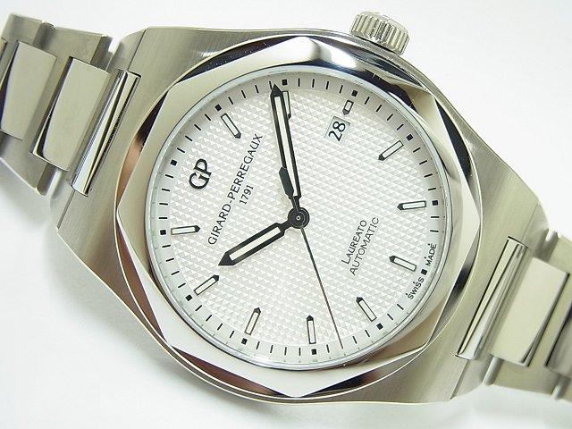 ジラール・ペルゴ ロレアート 41MM ホワイト 225本限定 国内正規品