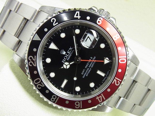 ロレックス GMTマスターII 赤黒ベゼル Ref.16710 Z番