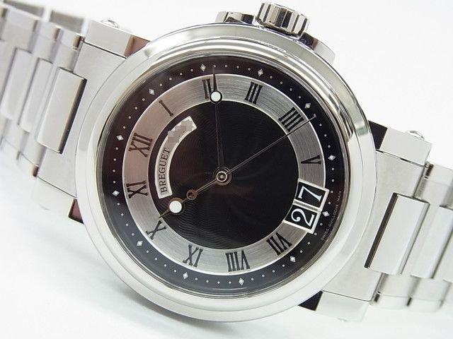ブレゲ マリーン�ラージデイト ブラック 5817ST 正規未使用品