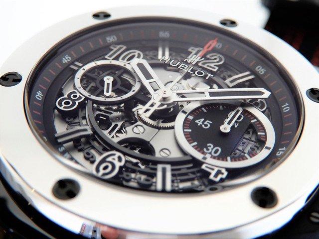 new product ede77 def0e ウブロ ビッグ・バン ウニコ セラミック プラチナ ヨシダスペシャル - 腕時計専門店THE-TICKEN(ティッケン) オンラインショップ