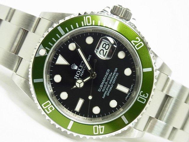 new concept bfefb 48b62 ロレックス グリーンサブ 16610LV M番 ルーレット有 正規品 - 腕時計専門店THE-TICKEN(ティッケン) オンラインショップ