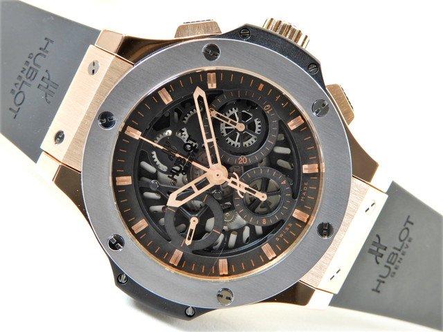 reputable site cbdb3 65a26 ウブロ ビッグバン アエロバン 18KPG×タンタル   - 腕時計専門店THE-TICKEN(ティッケン) オンラインショップ