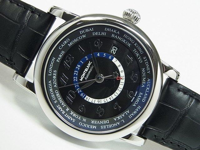 モンブラン スター・ワールドタイムGMT ブラック Ref.106464