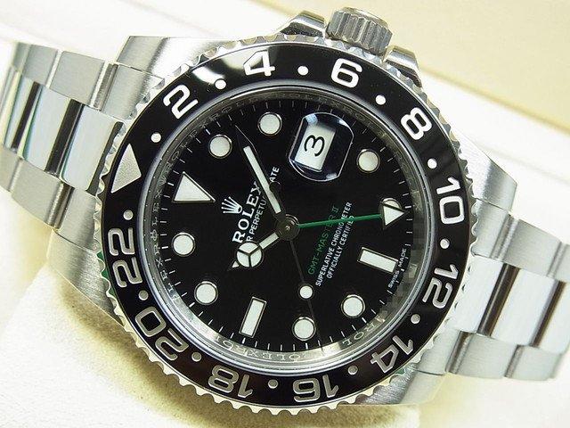 ロレックス GMTマスターII Ref.116710LN ランダム番 '18年購入