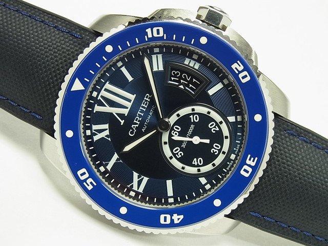 カルティエ カリブル ドゥ カルティエ・ダイバー ブルー WSCA0010