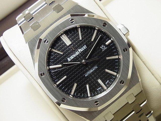free shipping 0cea5 1acdc オーデマピゲ ロイヤルオーク 41MM ブラック 15400ST - 腕時計専門店THE-TICKEN(ティッケン) オンラインショップ