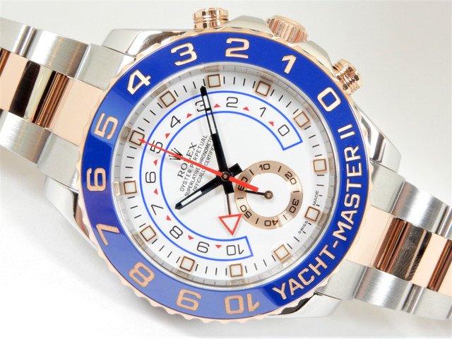 ロレックス ヨットマスターII ERGコンビ 116681 正規品